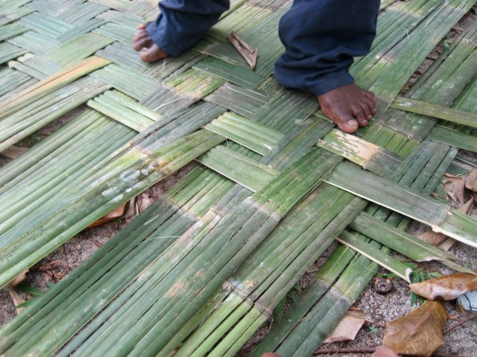 bamboo thatch