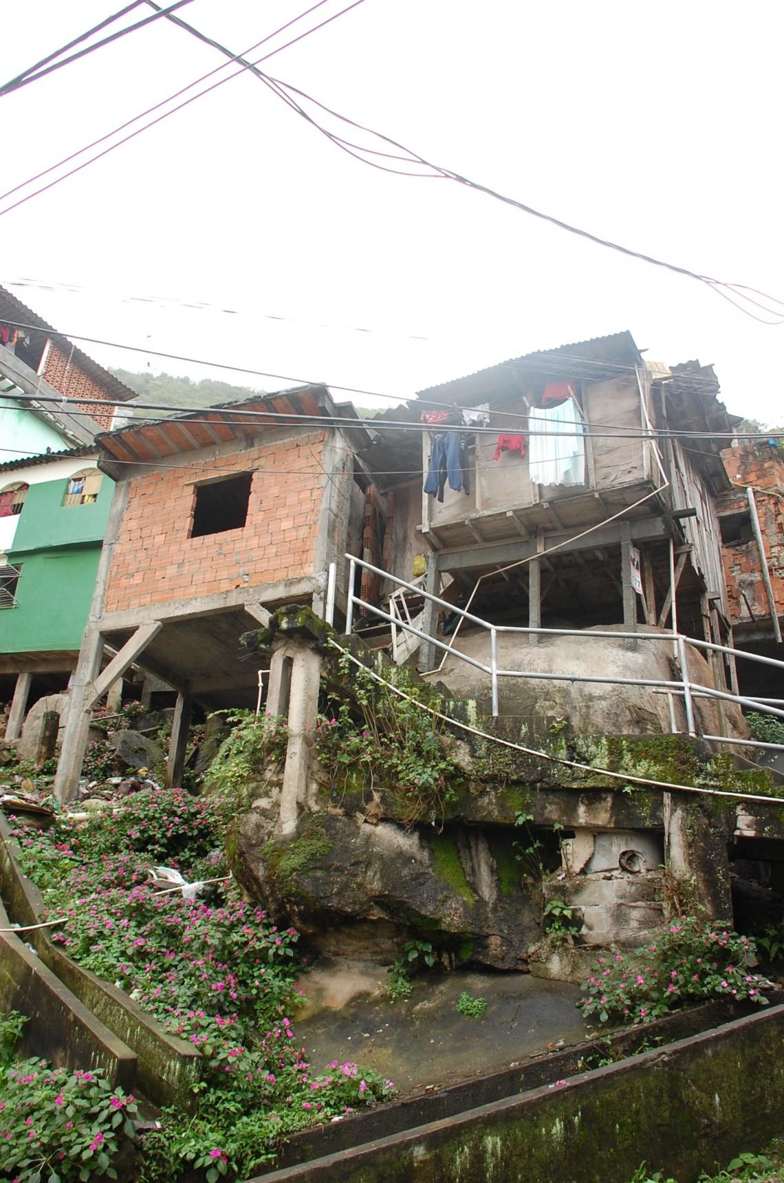 Favela Santa Marta in Rio de Janeiro