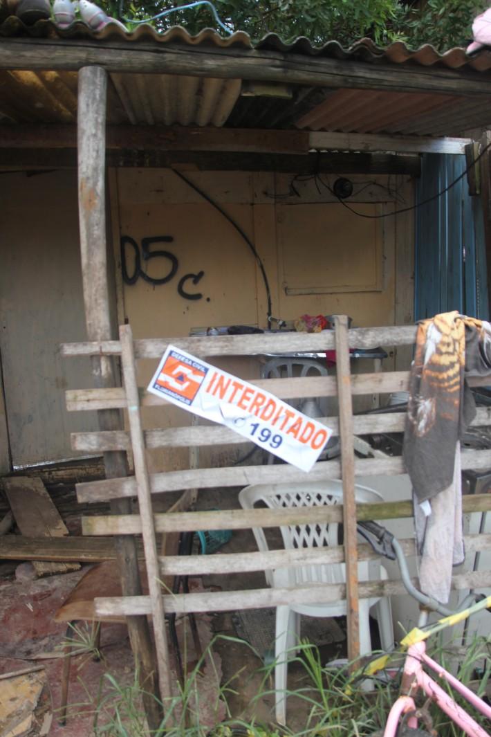 House marked for demolishion